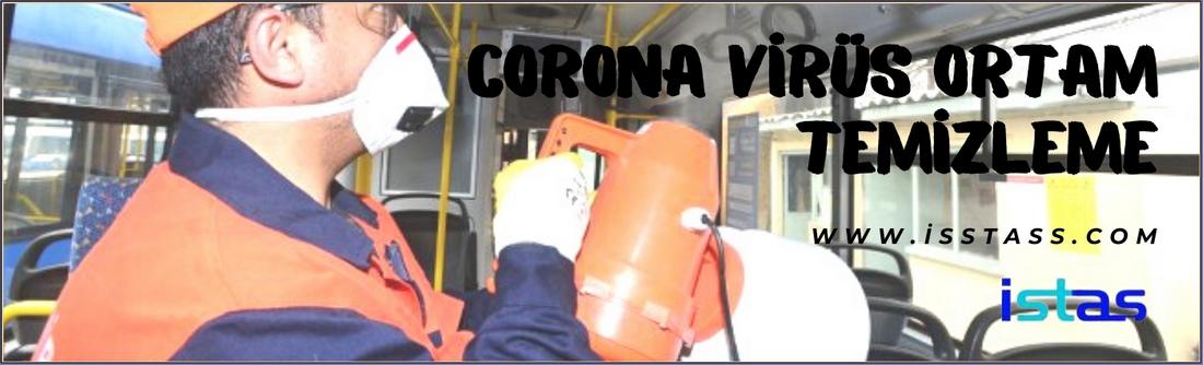 Corana Virüs Ortam Temizleme